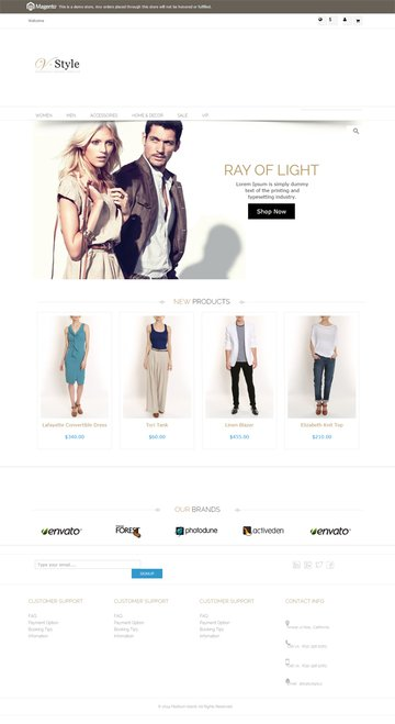 Before Styling Homepage