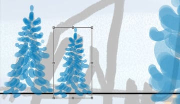 Copy paste background trees