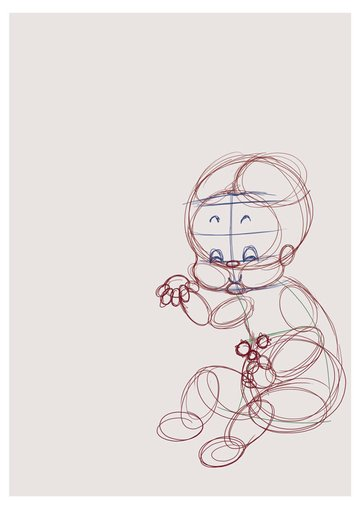 Anatomy Roughed with Circles
