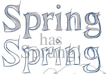 Spring Text Copy