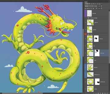 Repeat Process Dragons Neck