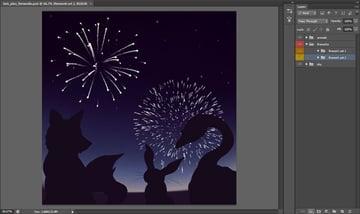 Stamped Fireworks