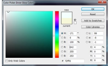 Inner Glow Colour - Teal