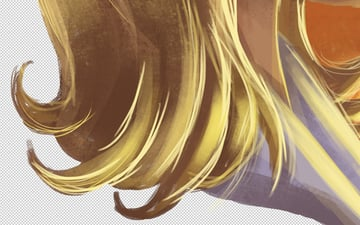Sandy Hair - Ends