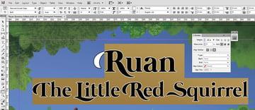 Ruan Stroke Adjustment in InDesign
