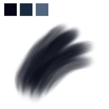 Chimpanzee Fur - Base Layer and Colour Swatches