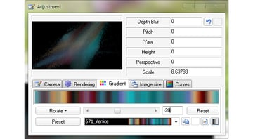 Selecting the Gradient