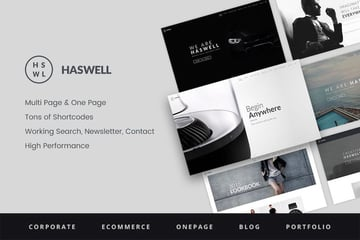 Haswell - Multipurpose One Multi Page Template