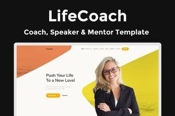 LifeCoach - Coach Speaker Mentor Template