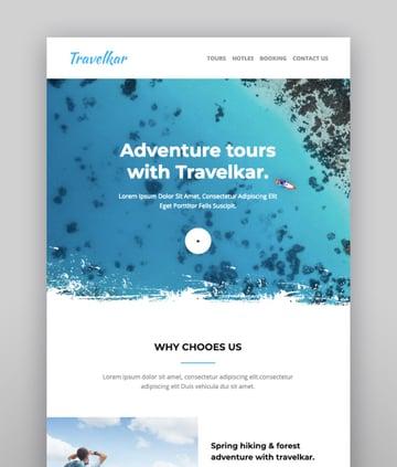 Travelkar - Responsive Email for Travel 70 Modules