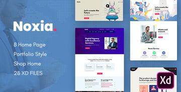 Noxia - Creative Multipurpose Business XD Template