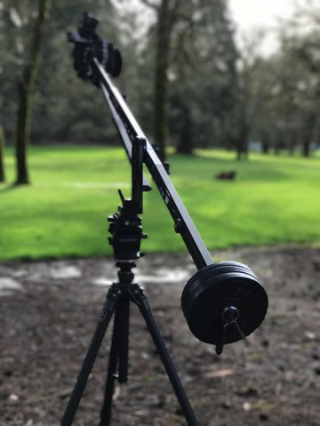A high-up jib-shot position