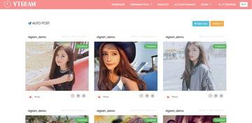 VTGram Instagram Tool for Marketing