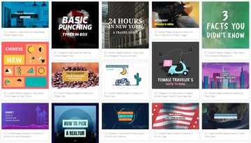 Placeit Blog Post Teaser Video Templates