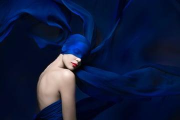 Royal Blue Photography by Lindsay Adler