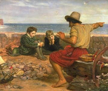 The Boyhood of Raleigh Sir John Everett Millais