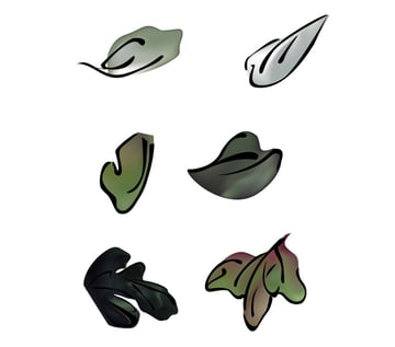 How to Make Traditional Chinese Paintings in Adobe Illustrator Leaf Types