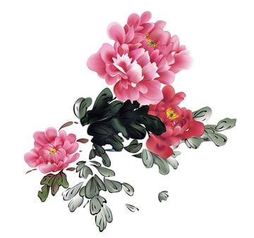 How to Make Chinese Flowers in Adobe Illustrator Flowers and Leaves Complete