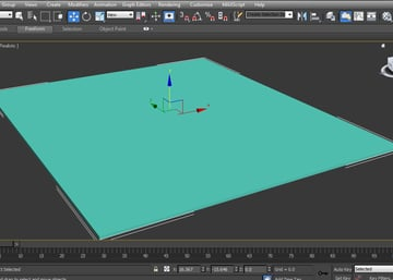 create a ground plane