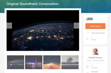 original soundtrack composition