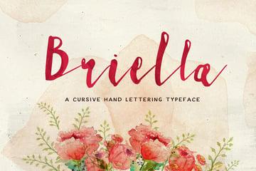 Briella font