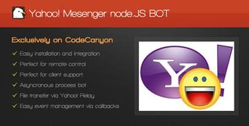 Yahoo Messenger nodeJS BOT on Envato Market
