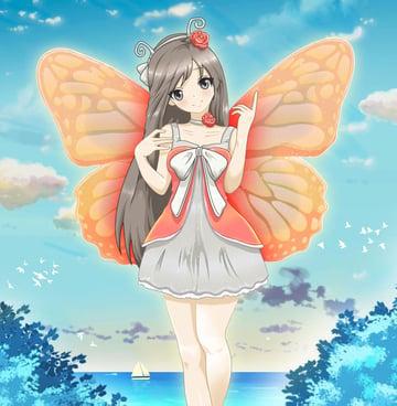 Anime Style Character Design service on Envato Studio