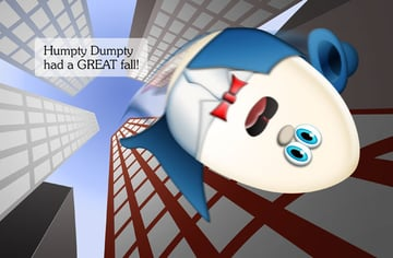 Humpty Dumpty chlidrens illustration