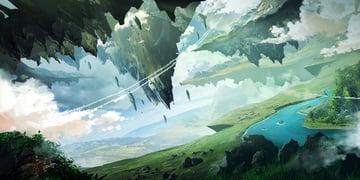 Environment concept art for games final landscape