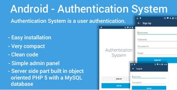 Android Authentication System on Envato Market