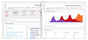 Raygun Pulse real user monitoring