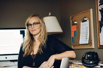 Tiffany Brown Olsen workspace