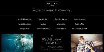 Unstock screenshot
