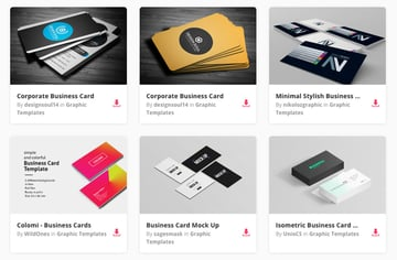 Business Card Templates on Envato Elements