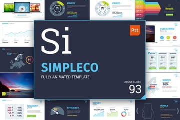 SImpleco PowerPoint template on Envato Elements