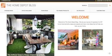 Home Depot Blog