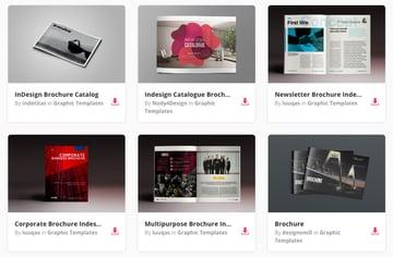 Unlimited Brochure Templates on Envato Elements