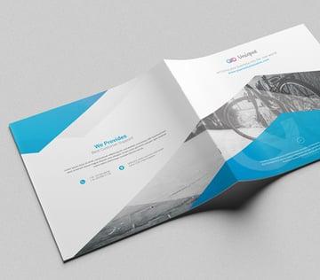 Multipurpose Square Brochure Template