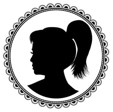 Profile silhouette