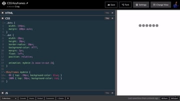 Screenshot from Up and Running With CSS Keyframe Animations