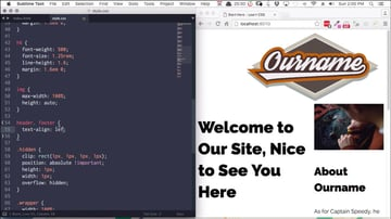 Screenshot from CSS Layout course