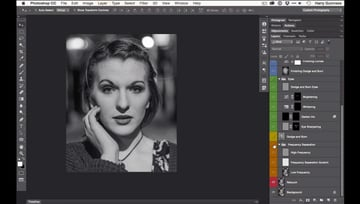 Give Your Digital Images a Black and White Film Look