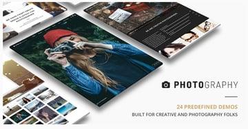 Responsive Photography Theme on Envato Market