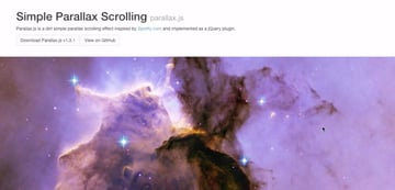 Simple Parallax Scrolling