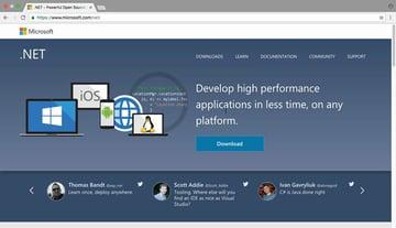 ASPNET home page