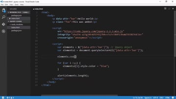 jQuery function to select elements