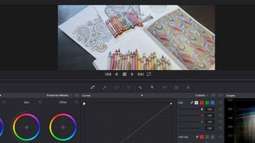 Screenshot from Automatic Color Correction With DaVinci Resolve