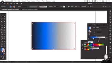 Adding a colour to a gradient