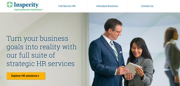 Insperity website