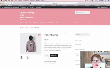 Up and Running With WooCommerce demo site